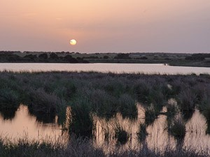 Extremadura Sunset over Arrocampo © John Muddeman